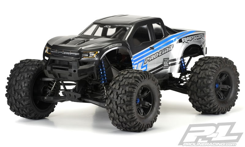 Pro-Line's 2017 Ford F-150 Raptor Body for the Traxxas X-Maxx