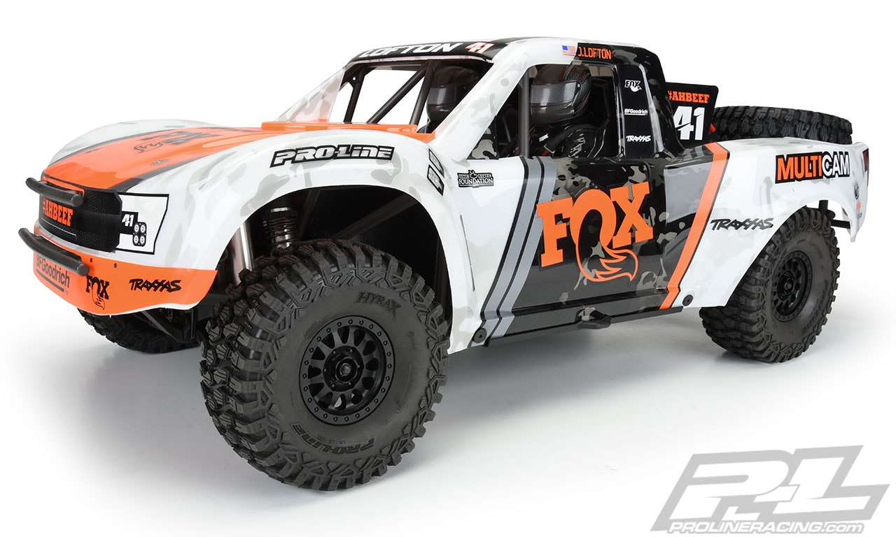 Pro-Line Hyrax All Terrain Tires for the Traxxas UDR