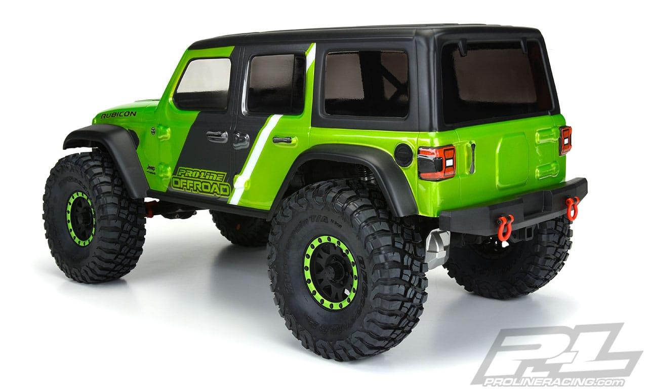 Pro-Line Jeep Wrangler JL Unlimited Rubicon Body - Rear