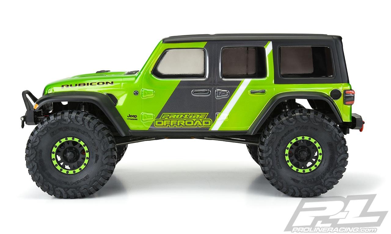 Pro-Line Jeep Wrangler JL Unlimited Rubicon Body - Side