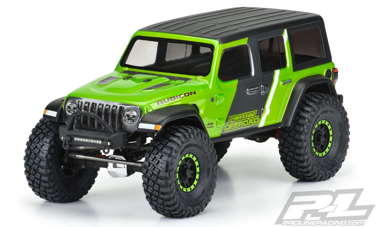 Wrap Your Trail Rig in a New Jeep Wrangler JL Unlimited Rubicon Body from Pro-Line
