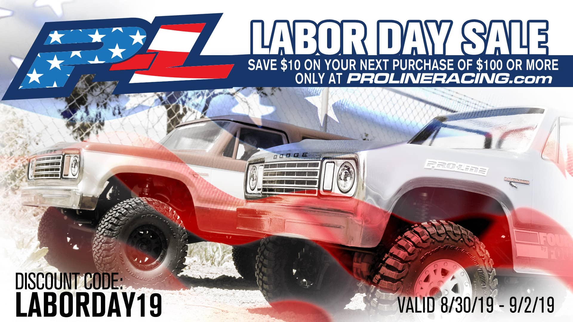 Save Money During Pro-Line's Labor Day Sale