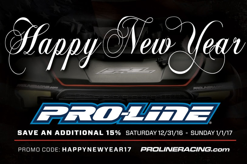 Pro-Line New Year 2017 Sale