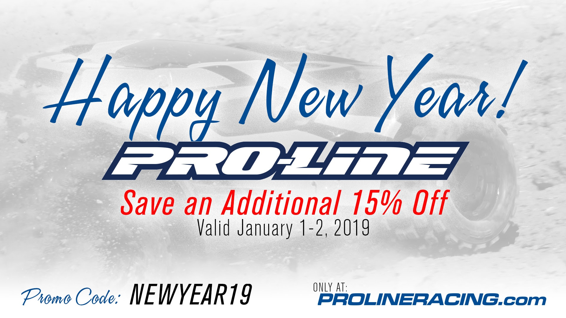 Happy New Year from Pro-Line!