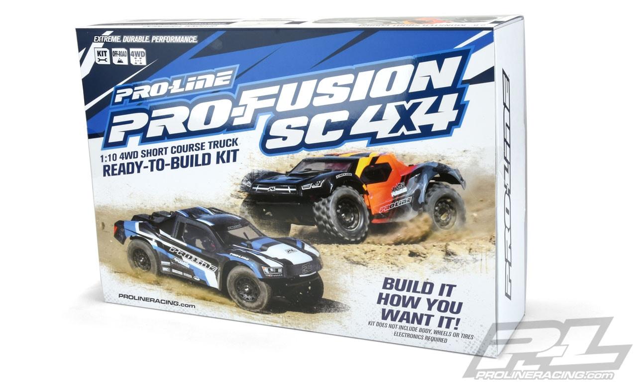 Build & Bash: Pro-Line's PRO-Fusion SC 4×4