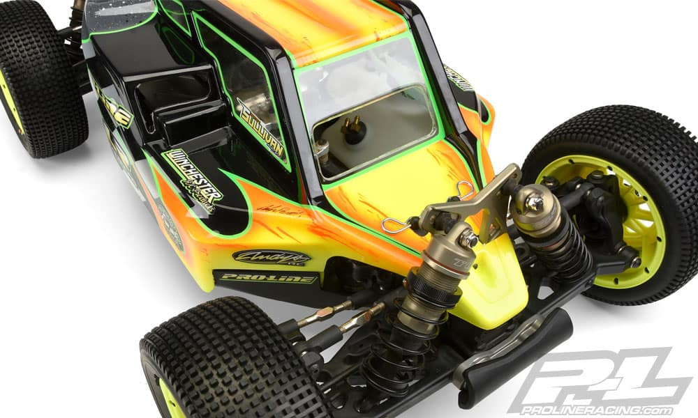 Pro-Line Pre-cut Elite Body for the Losi 5ive-B RC Buggy - Cooling Vents