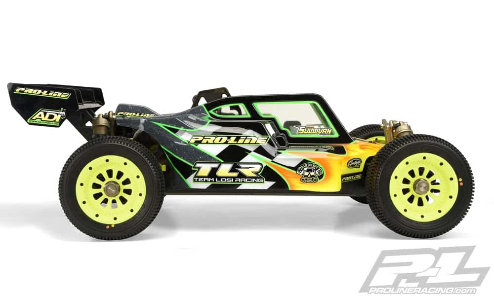 Pro-Line Pre-cut Elite Body for the Losi 5ive-B RC Buggy - Side