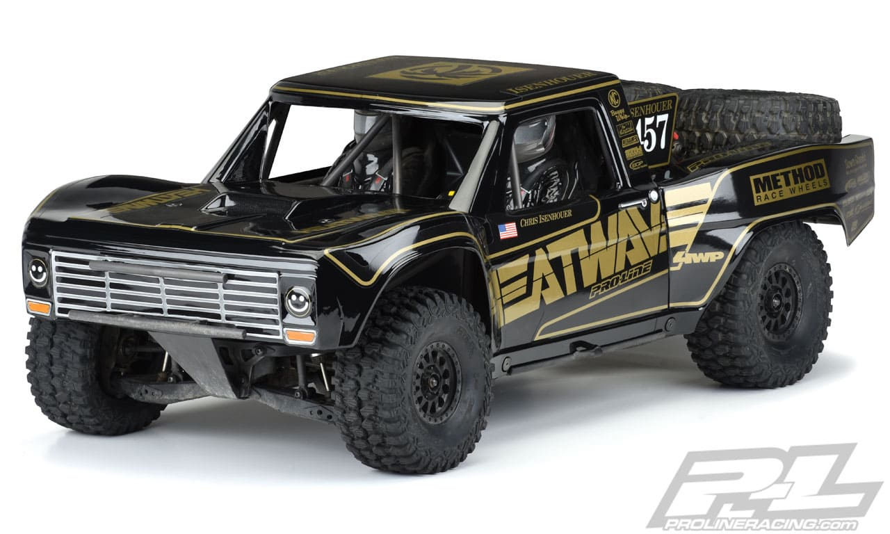 Pro-Line Pre-Painted/Pre-cut '67 Ford F-100 Heatwave Edition Body for the Traxxas UDR