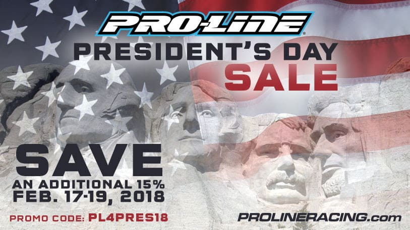 Pro-Line's President's Day Sale – Save an Additional 15%