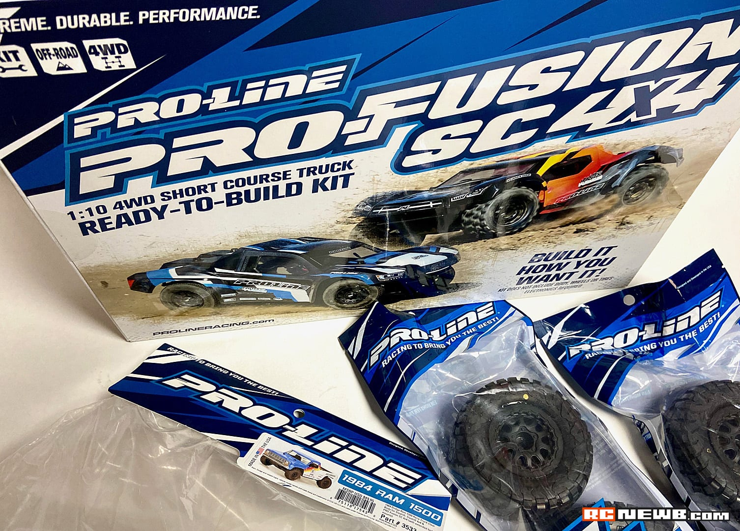Pro-Line Pro-Fusion SC 4×4 Build – Getting Started