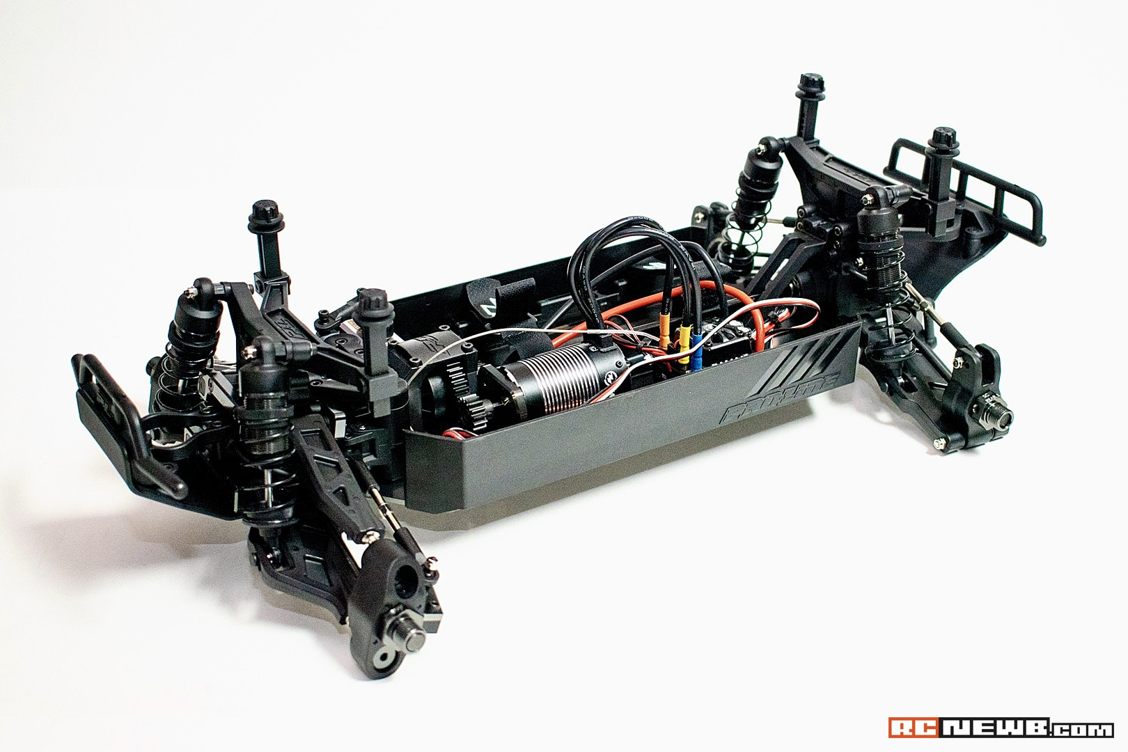 Pro-Line PRO-Fusion SC 4×4 Build – Electronics Installation