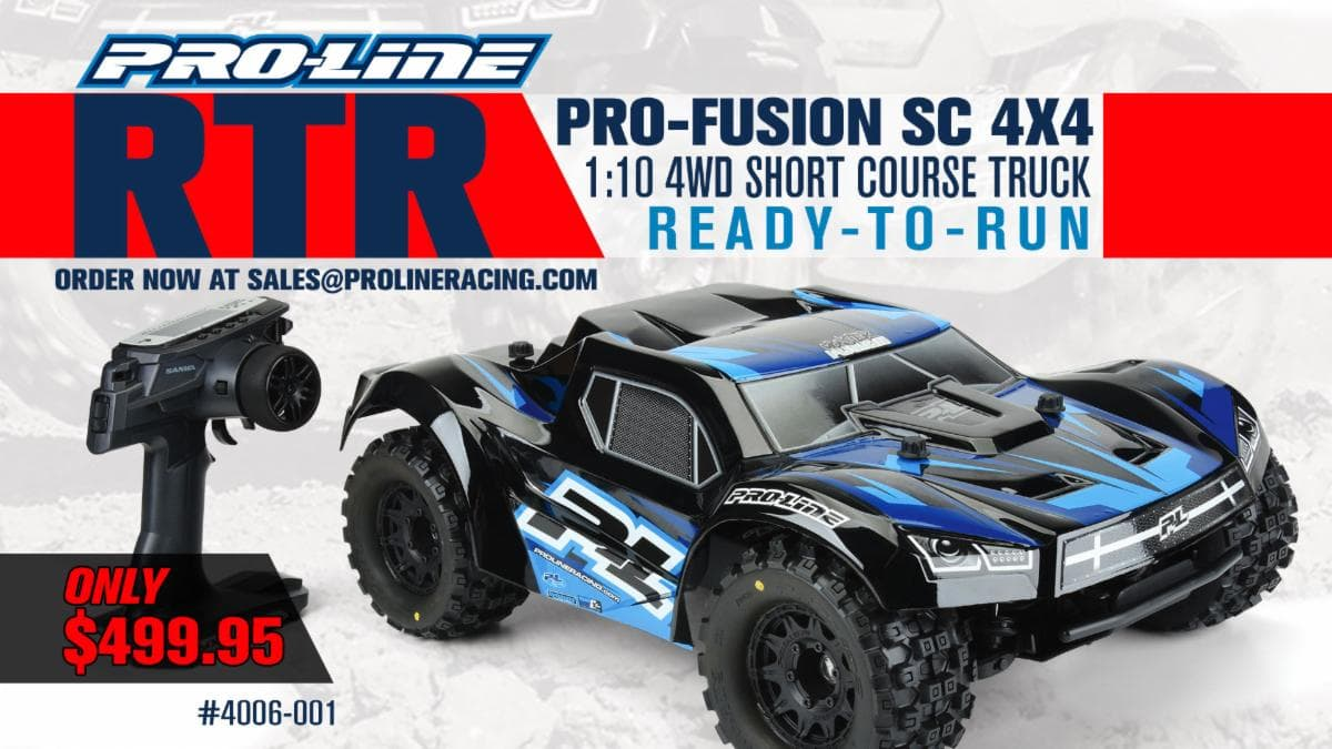 Wanna Bash? Get Your Hands on a Limited-Edition Pro-Line RTR Pro-Fusion SC 4×4
