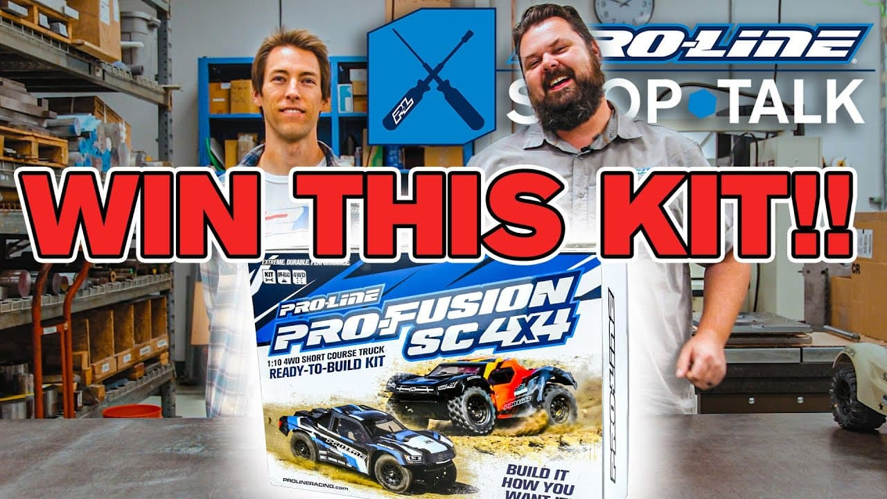 """Help Pro-Line Pick a Pro-Fusion SC 4×4 Monster """"Build Off"""" Winner & You Could Win a Kit of Your Own"""