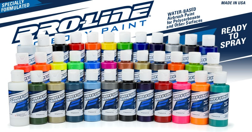 Pro-Line Releases Phase 3 of their R/C Body Paint