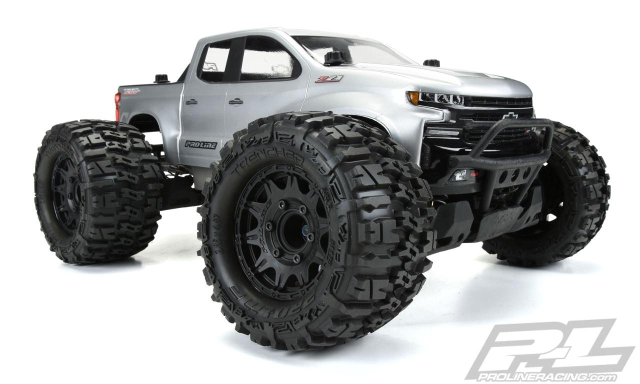 Pro-Line Raid 2.8″ Black 6×30 Removable Hex Wheels