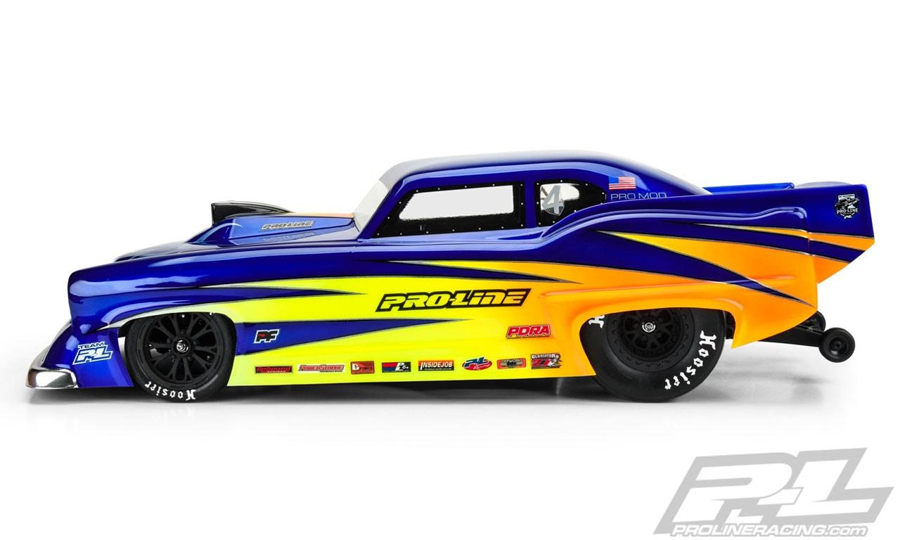 Pro-Line Super J Pro-Mod RC Body - Side