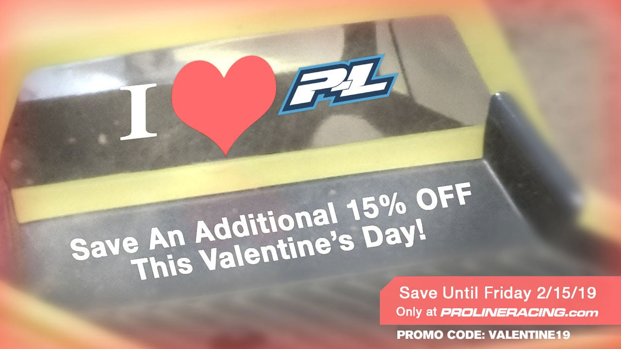 Shower Your R/C Collection with Love During Pro-Line's Valentine's Day Sale