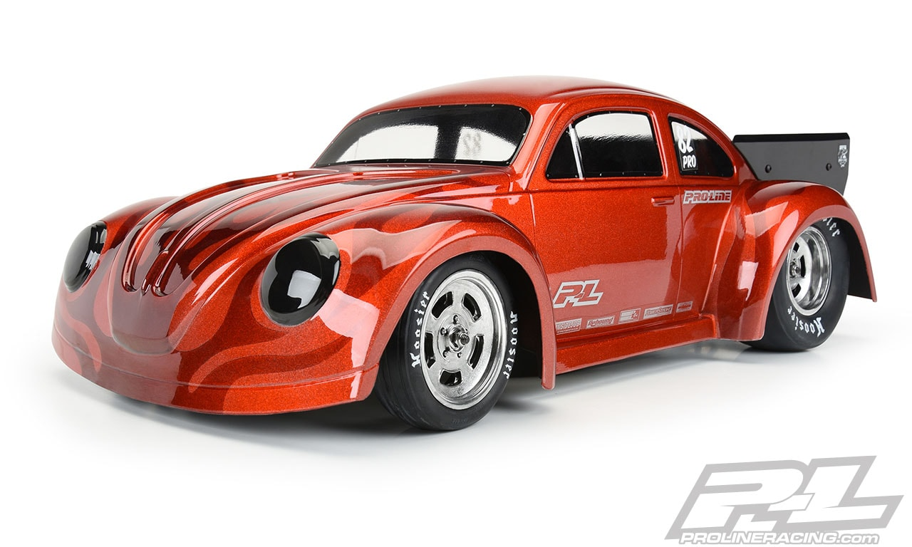One Bad Beetle: Pro-Line's Volkswagen Drag Bug Clear Body