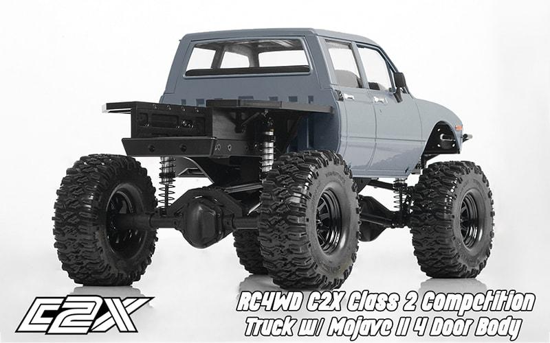 RC4WD C2X Class 2 Comp Truck - Rear