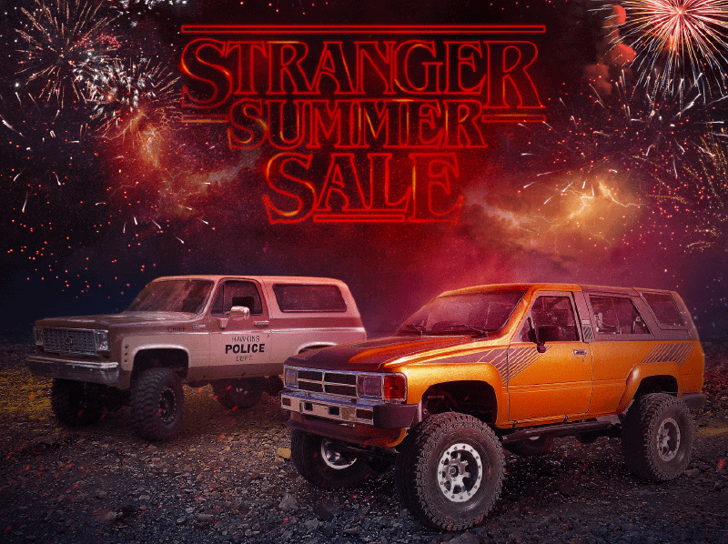 "The Hunt is on During the RC4WD ""Stranger Summer Sale""!"
