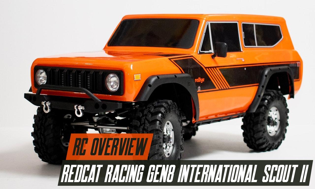 An Overview of the Redcat Racing GEN8 International Scout II [Video]