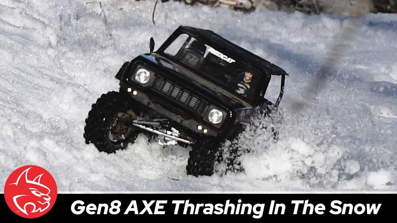 Blasting Through the Snow in an Open-Top GEN8 AXE [Video]