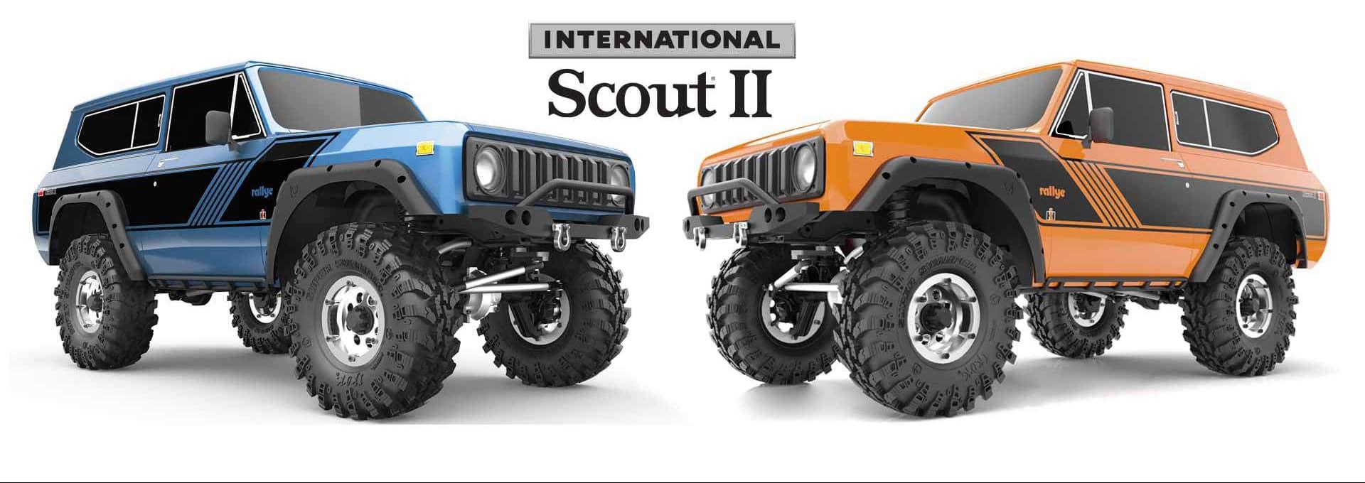 Redcat Racing GEN8 International Scout II - Hero