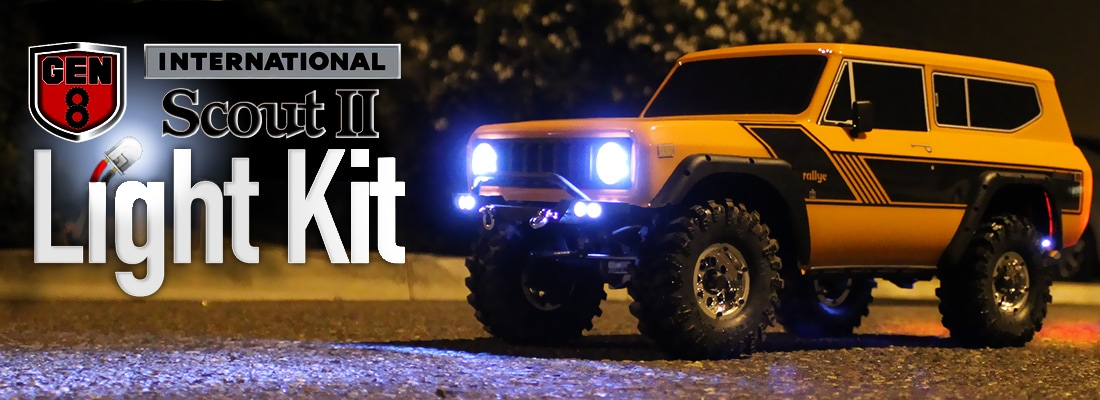 Light Up Your GEN8 Scout with this New LED Kit from Redcat Racing