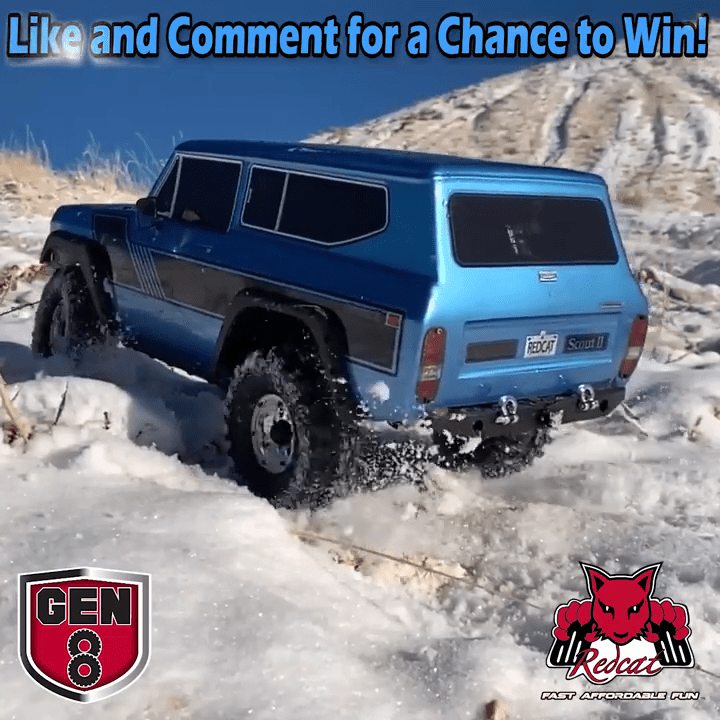 Kick-off the New Year in Style with this GEN8 Scout II Giveaway from Redcat Racing!