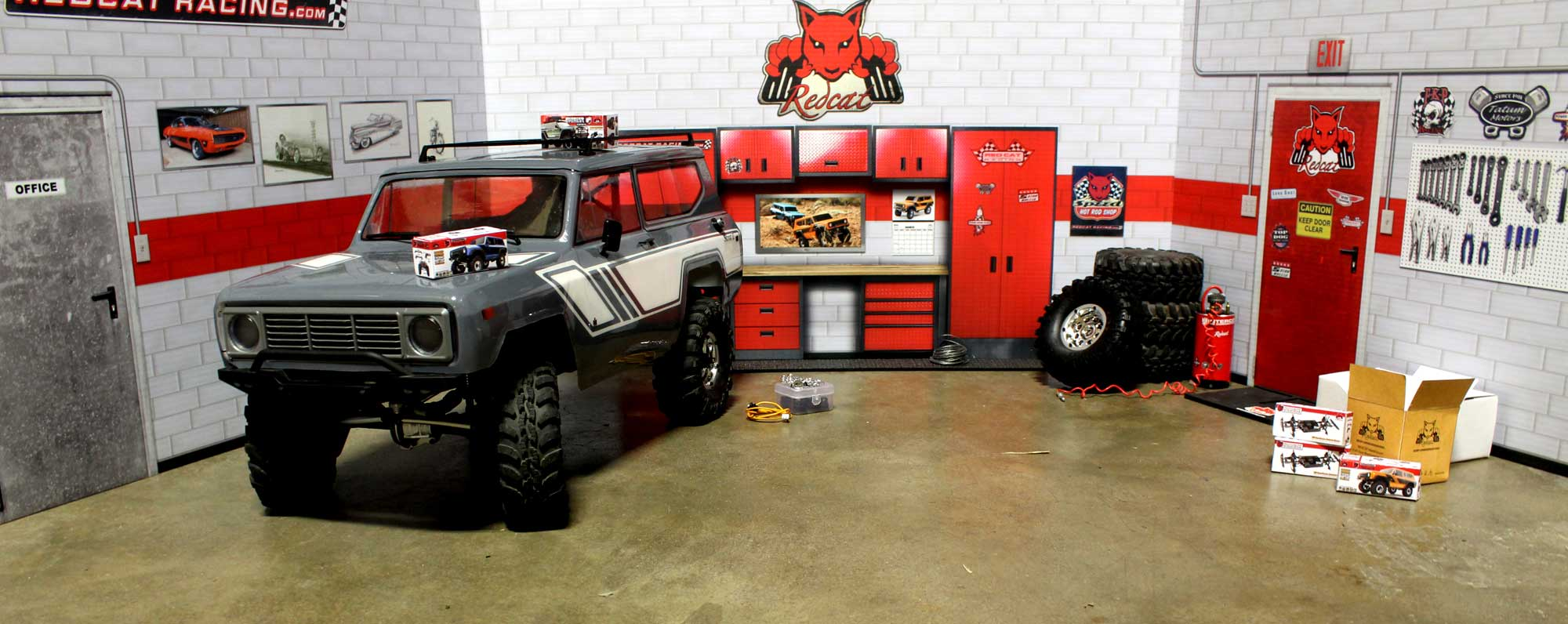 Redcat Racing Offers Up Free Papercraft Scale Accessories for Your R/C Garage