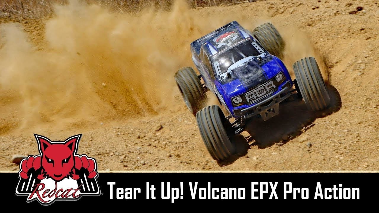 Full-throttle Fun with the Redcat Racing Volcano EPX Pro [Video]