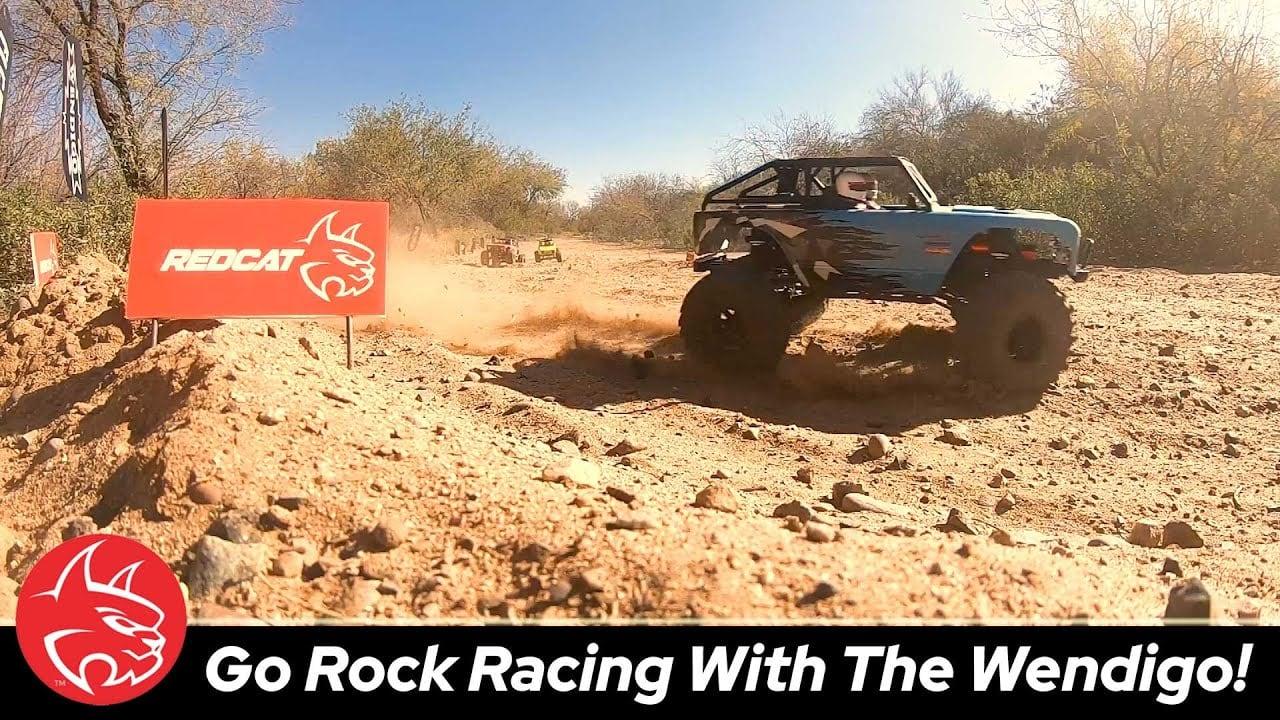 Rock Racing Action with the Redcat Racing Wendigo [Video]
