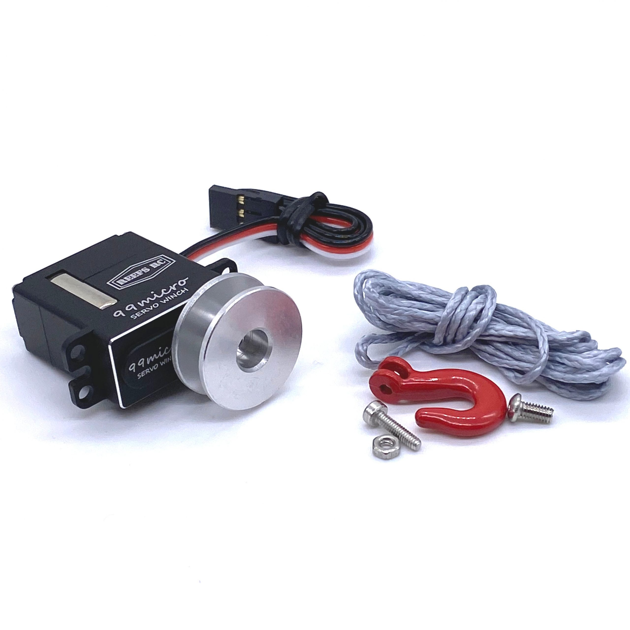 Small Yet Mighty; Reef's RC Announces the 99Micro Servo Winch