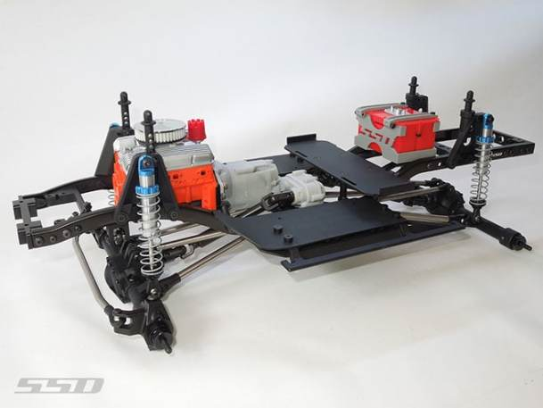 SSD Trail King Pro Chassis Builders Kit | RC Newb