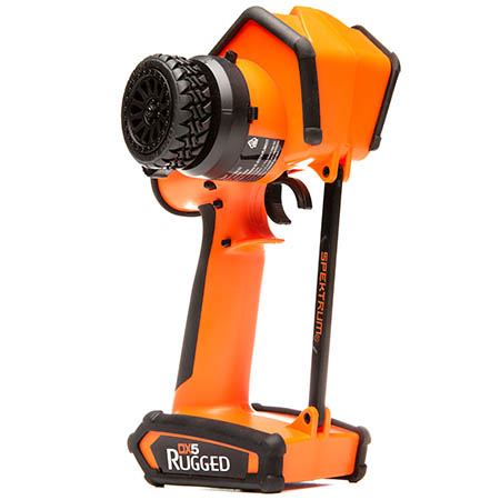 Spektrum DX5 Rugged Orange Edition - Front