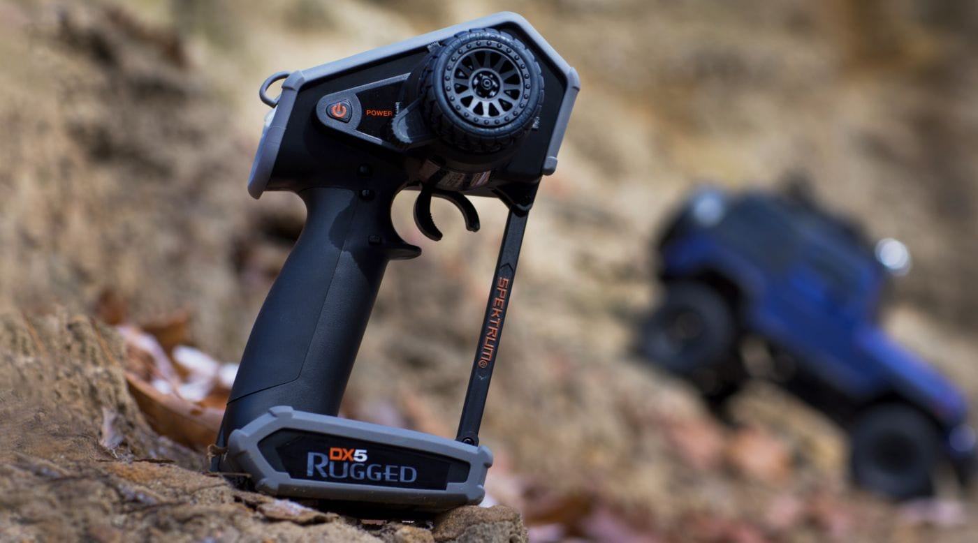 Toughness for the Trail: Spektrum's DX5 Rugged R/C Crawler Radio