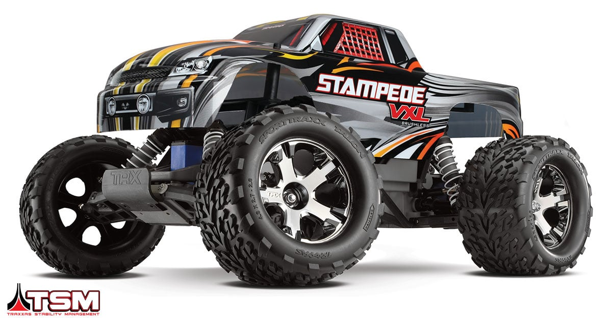 Traxxas Adds Stability Management to the Stampede VXL and Bandit VXL