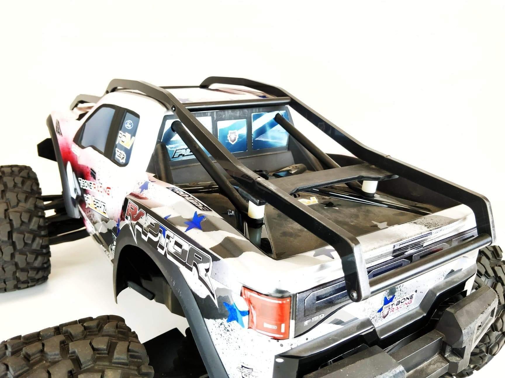 T-Bone Racing Traxxas X-Maxx R2EXO Roll Cage - Detail