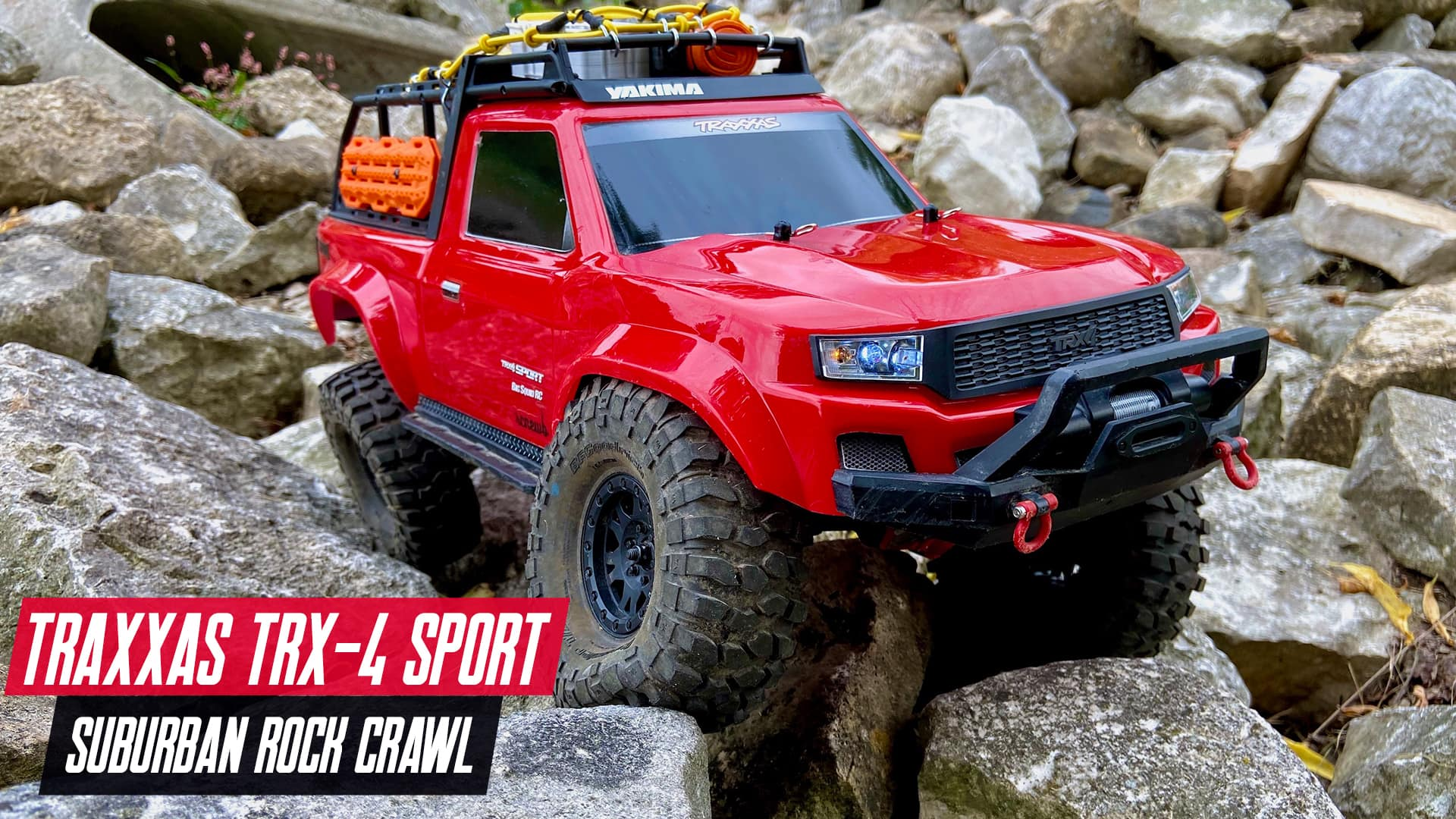 A Rock n' Roll Adventure with the Traxxas TRX-4 Sport [Video]