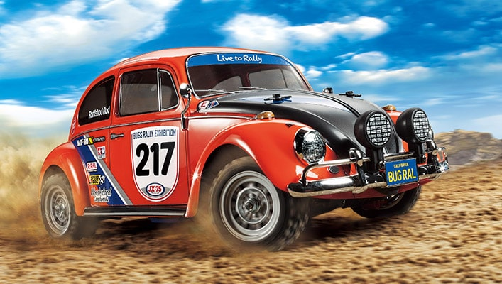 Tamiya's Bugging Out: The RC Volkswagen Beetle Rally