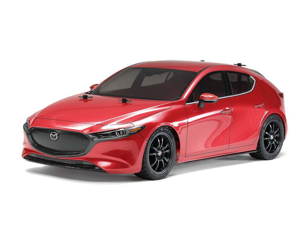 A Street Stunner: Tamiya Mazda3 TT-02 Kit