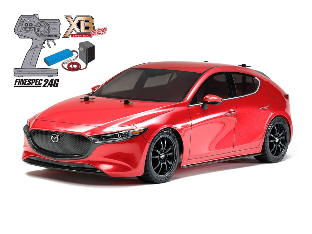 Open the Box & Hit the Road with Tamiya's Mazda3 TT-02 Expert Built RTR