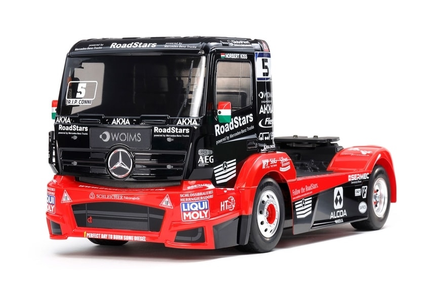 Tamiya Tankpool24 Mercedes Actros Race Truck