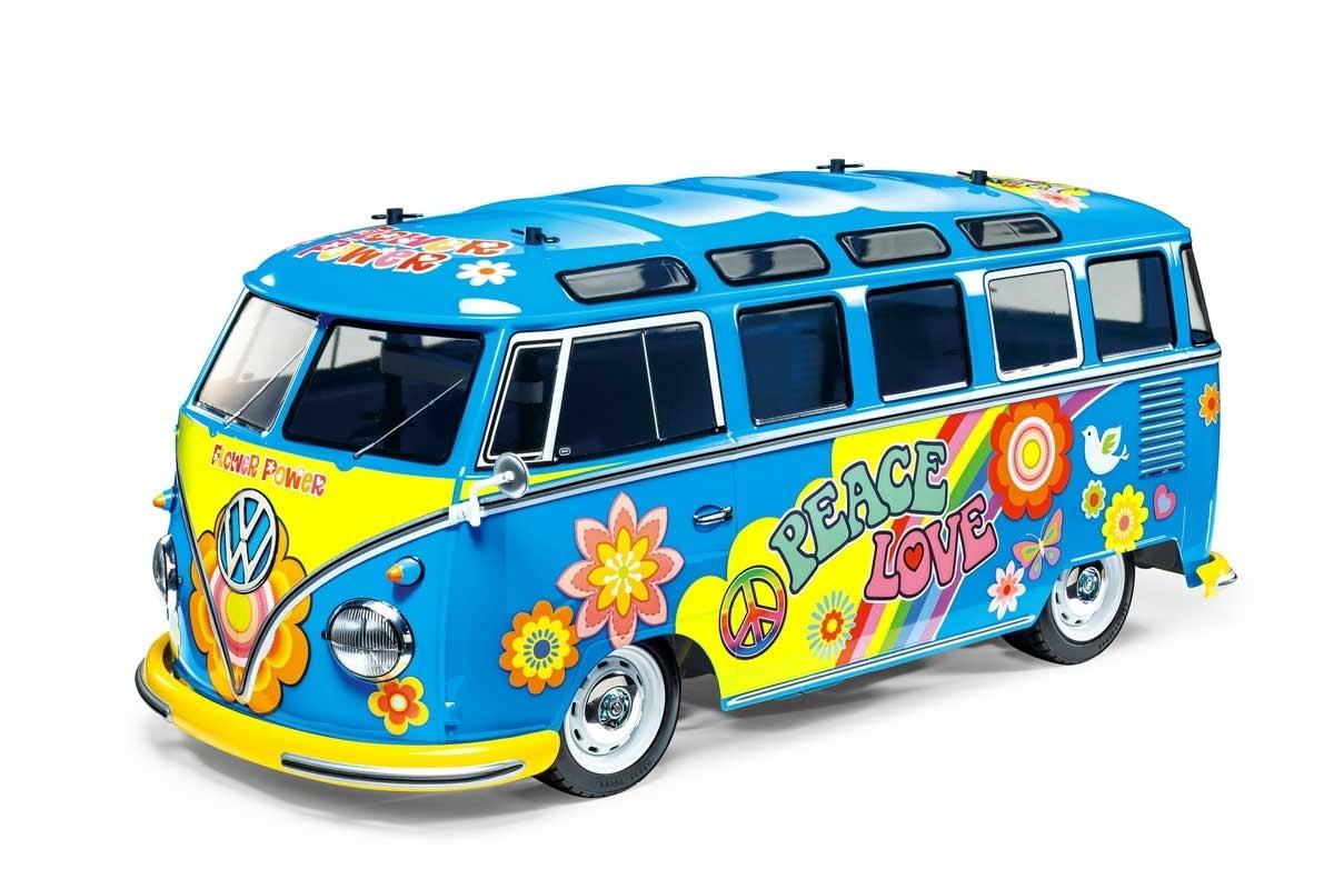 """Feel the Love, Man""; Tamiya's Volkswagen Type 2 Flower Power Van Kit"