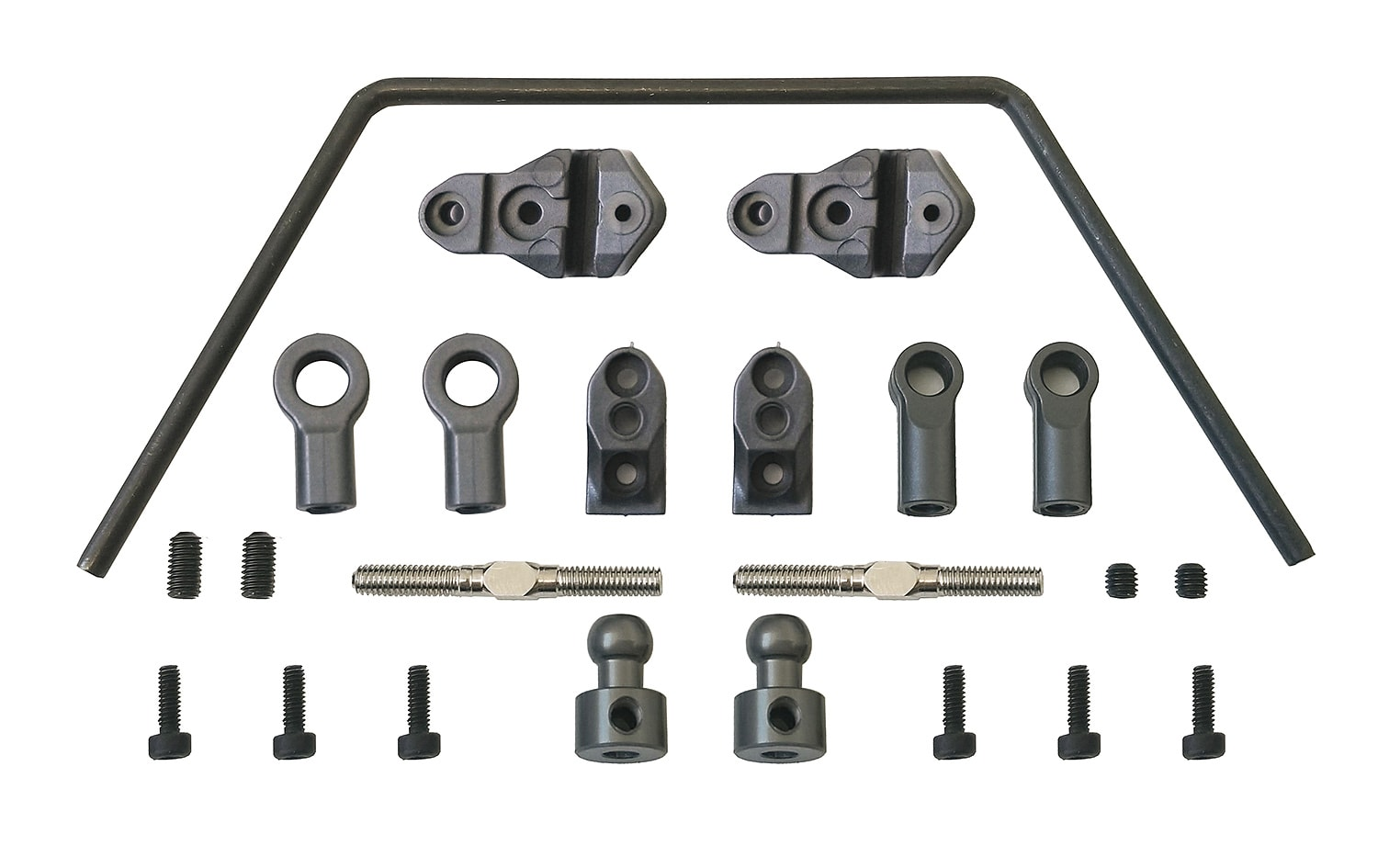 Tune Your Team Associated DR10 RTR with these Anti-Roll Bar Components