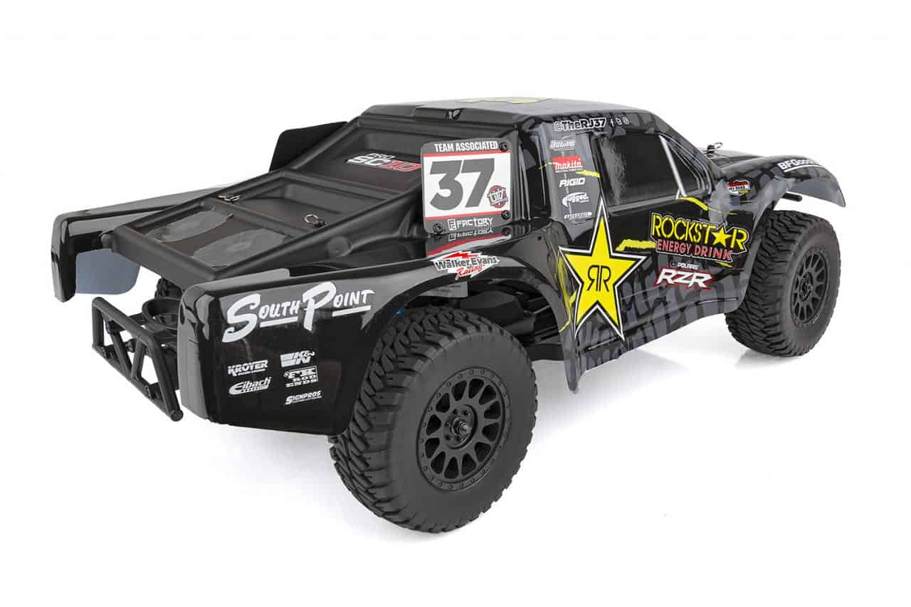 Team Associated ProSC10 Short Course Truck - Rear
