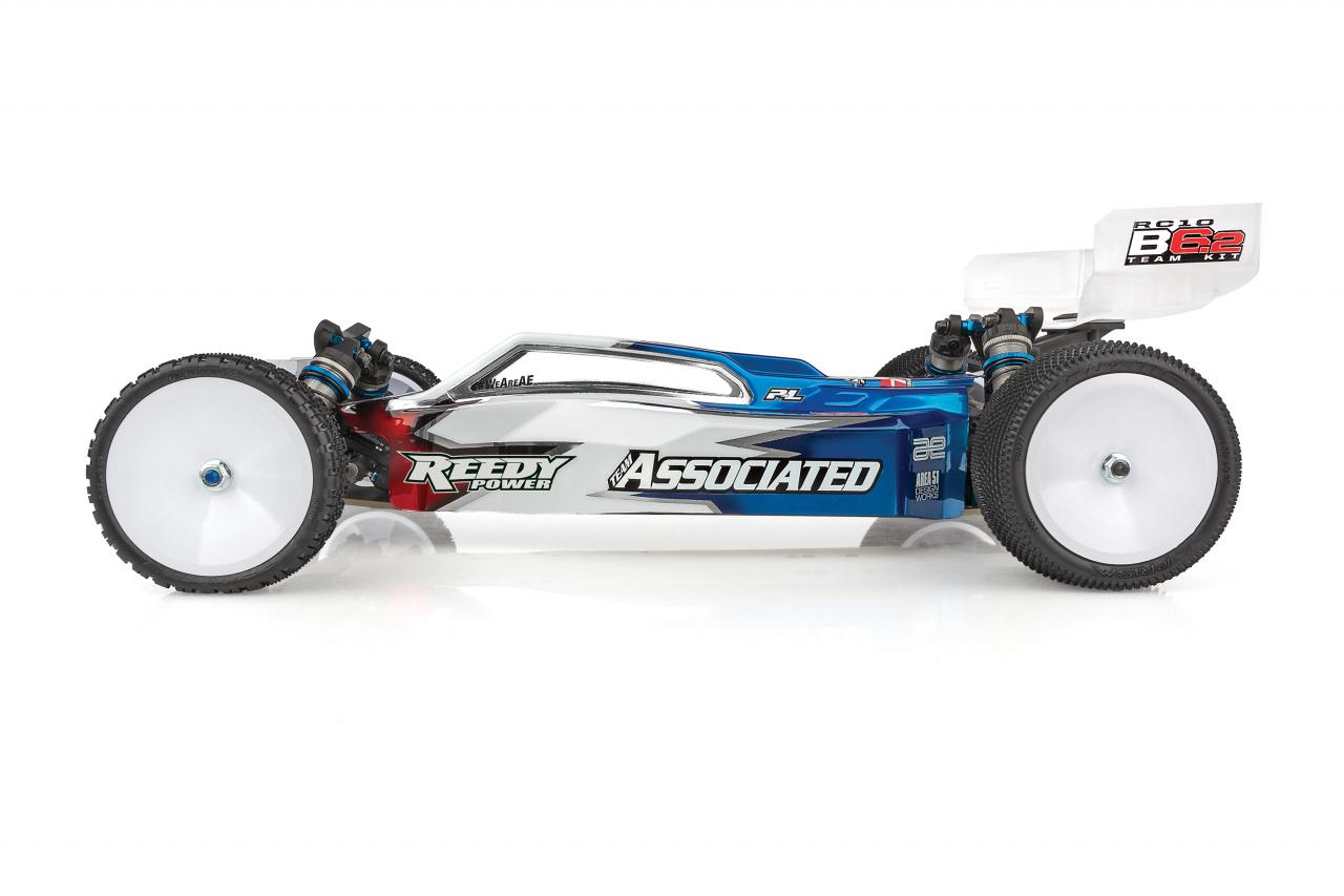 Team Associated RC10 B6.2 Competition Buggy Kit - Side