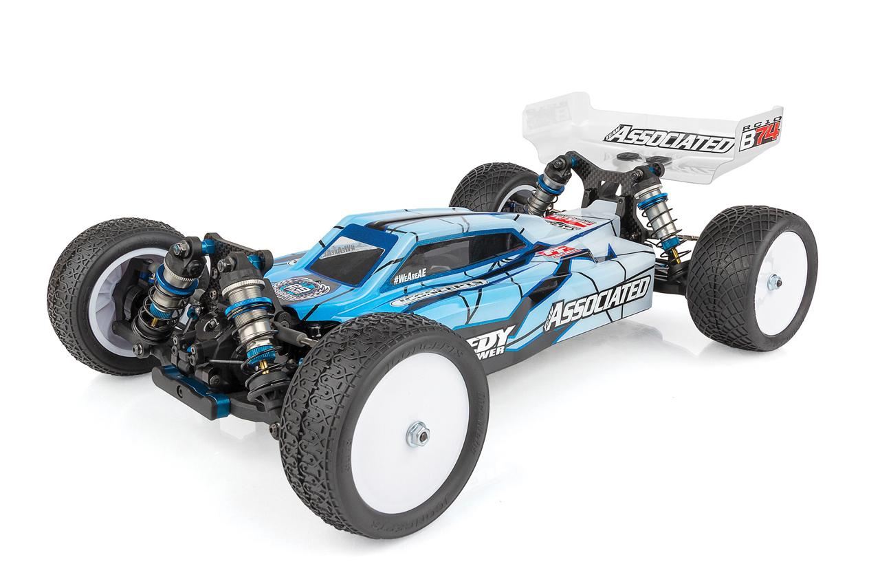Take to the Track with Team Associated's RC10B74 Team Kit