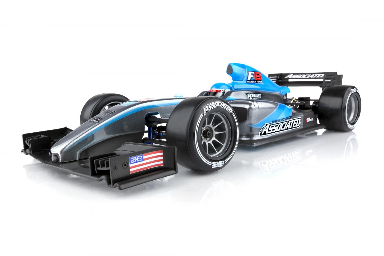 Team Associated Hits the Track with their RC10F6 Formula Racer