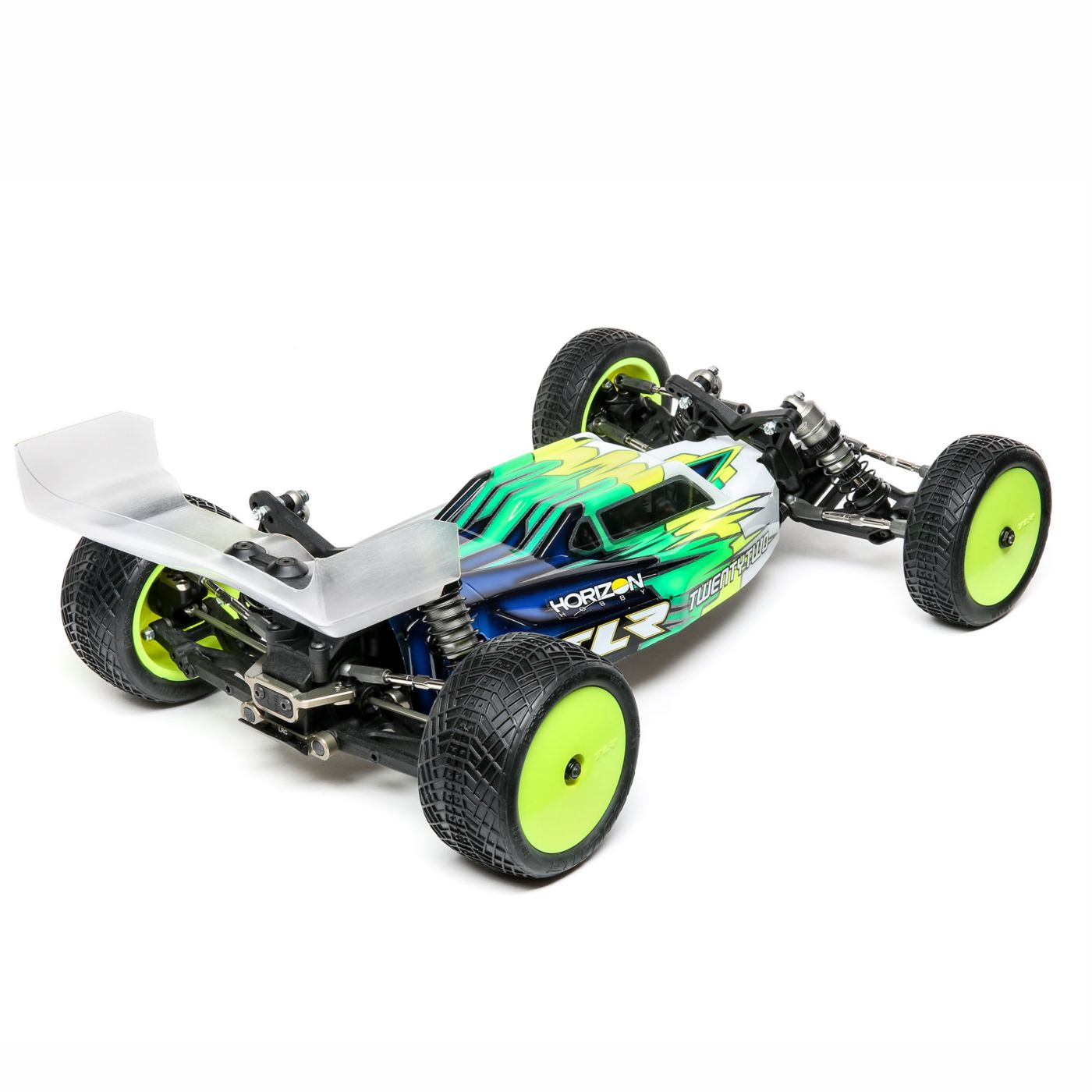 Team Losi Racing 22 4 Spec Racer 2WD Rear